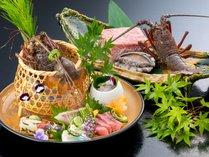 極膳イメージ※伊勢海老、鮑、松阪牛など料理長のおすすめの料理でご用意いたします。