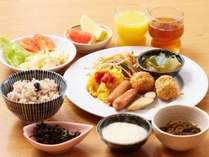ヘルシ-な朝食バイキングはロコイン沖縄の1オシです♪