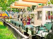 【遊園地】カントリートレイン:小さなお子様も楽しめる乗り物もいっぱい!