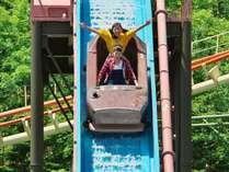 ≪遊園地≫急流すべり!暑い夏は水に落ちる爽快アトラクションがおすすめ!