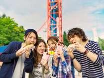 【遊園地でランチ】秋は日程限定で食べ放題のランチパックも登場!食欲の秋を楽しもう♪