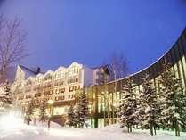 ◇【ルスツリゾートホテル&コンベンション】冬外観