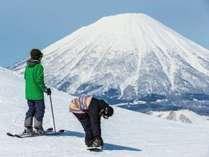 ■【冬ルスツ】景色を眺めながらの滑りは気分も更に爽快!