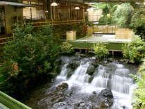 ■川床■吹き抜ける涼風に清らかな瀬音、目に鮮やかな新緑を眺めながらお食事をお楽しみ下さい。