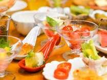 「月岡ホテル流」新スタイルのバイキング♪個々皿盛りで華やかさがアップ!