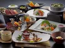 【料理/夕食】旬の食材や豊後海の幸をふんだんに取り入れた会席料理です♪
