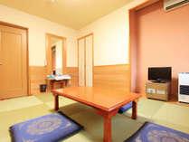 *【客室例】手足を伸ばして寛げる畳のお部屋です。