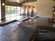 【女性大浴場】総檜風呂です!