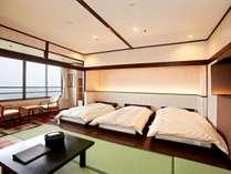 【ランクアップルーム和洋室】和室とベッドルームの快適空間!