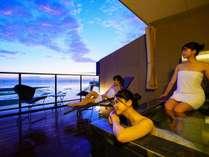 【グランドオーシャンズ】朝日や星空、時間帯によって異なる景色に癒されます。