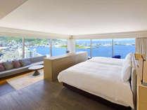 【客室】ロイヤルスイート/87平米/客室最上階で美景を独り占め。最上級スイートルーム。