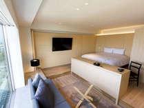 【客室】マリーナキング/42平米/キングサイズのベッドをご用意。