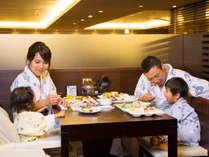 【レストラン銀杏】和洋中のバイキングにはキッズメニューも多彩!大人もお子様も大満足の品揃えです。