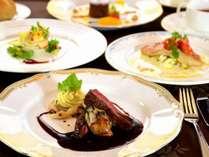 花暦洋食フルコースディナー