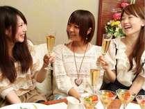 【女子旅】 リゾートホテルでちょっと贅沢なお泊まり女子会を♪ 『女子会プラン』