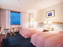 ◇アネックスツイン/30平米◇ 天然温泉 みはらしの湯はアネックス10階に。宿泊客は無料です♪