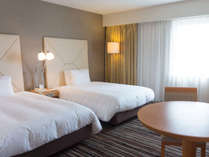 ◇本館ツインルーム/23.5平米◇日本ベッド製「ビーズポケット」ベッド幅110cm