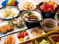 【三河御膳2013年春】海の幸を中心としたお料理を心ゆくまでお楽しみください。