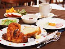 【朝食】B&Bでお手軽ステイ♪