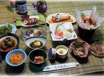 アワビコース。生ウニ・アワビ水貝と奥尻の浜料理