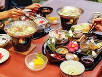【夕食一例】四季折々のお膳料理を堪能下さい。
