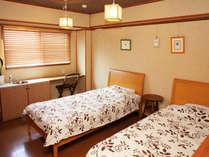 少し広めのゆったりくつろぎタイプ。最も広くて快適な部屋です