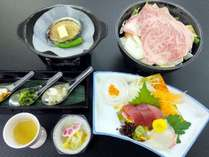 ご夕食イメージ【グレードUPプラン】※季節によりお料理内容は変わります。