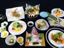 ご夕食イメージ【スタンダードプラン】 ※季節によりお料理内容は変わります。