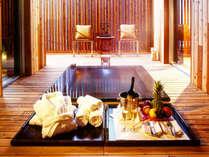 VILLA S 客室内天然温泉露天風呂