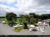 ホテル高台からの眺め☆大自然の中でゆったりと☆2011年度音楽フェスタ開催時写真