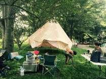 キャンプサイト利用・OYAKO RAVEイベント開催時写真