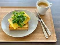 くずしだし巻き玉子トースト×「SLURP」極上コーヒー