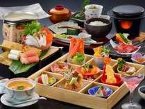 【三楽膳】9種の豆皿(小鉢)をそのまま・手巻き寿司・ちらし寿司と自分好みで(料理イメージ2018年3月~)