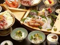【城崎・海の幸☆】舟盛料理コースプラン〔1泊2食付〕