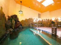 ■大浴場<光源の湯>柔らかな湯触りの温泉で『ほっ』と芯まで温まる…癒しの時間を提供します■
