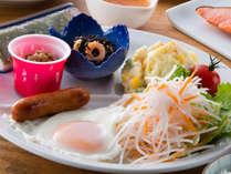 【朝食一例】朝から元気に!