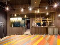 【Cafe&Bar】朝食は洋風・和風テイストの日替わりプレート