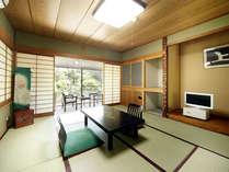 8畳2間続の和室(一例)グループや二世帯・三世帯ファミリーに最適の特別室