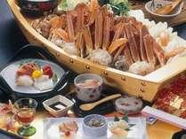 【冬の醍醐味♪ 『かにすき鍋』プラン】冬のカニはやっぱり大鍋で!♪4名様迄お部屋食確約♪お一人様もOK!