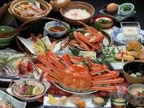 ズワイガニのフルコース料理『かにづくし』の料理イメージ
