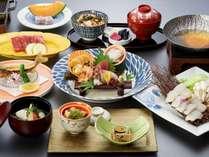特選「瀬戸内会席」季節の旬菜をお楽しみ下さい。