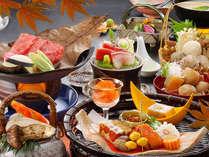 【みのり膳】秋限定プラン!松茸土瓶蒸し、山形牛朴葉焼、いも煮など秋色満喫!(※画像はイメージです)