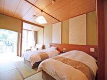 *【別館_和室一例】2017年5月にリニューアルした別館【禁煙】和室。お部屋に温泉はついていません
