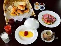 *【朝食一例】洋食もご用意できます。事前にご連絡ください