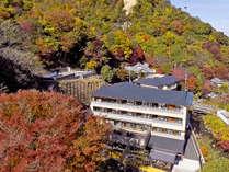 *【外観】有馬三山に囲まれた紅葉を楽しめる静かな御宿でございます。