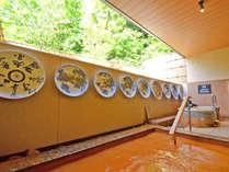 *【大浴場・金泉露天】大浴場は2つ・いずれも金泉露天と自家源泉内湯の2種の源泉をお楽しみいただけます