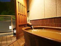 *【本館・金泉露天風呂付和室】有馬温泉内で数少ない山の眺望を楽しめる金泉露天のお部屋でございます。
