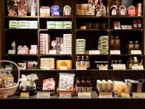*【売店】大田忠道オリジナル商品から朝食でご提供の商品まで様々な味覚をご用意。