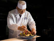 *【勲章料理人:大田忠道】斬新なアイデアで、味のみならず目でも楽しめる和食を提供します。