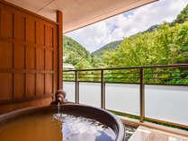 *【本館特別室・金泉付】金泉風呂が客室にあるお宿は有馬でわずか数件。当館では眺望も楽しめます